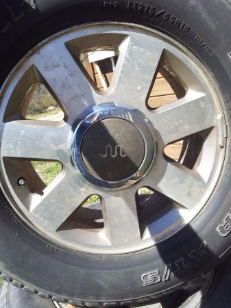 king ranch rims and tires - $600 (southside )