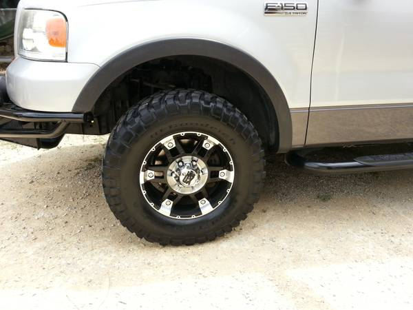wtt 2004-08 Ford F150 kmc xd spy rims and bfg mud tires For Trade (N. San Antonio)