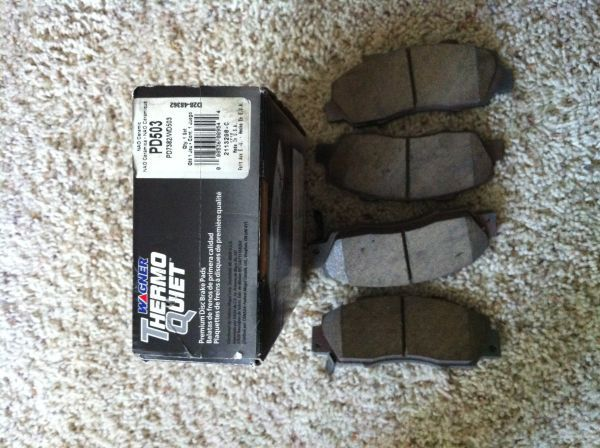 Integra Type-R front brake pads - $35 (Lackland)