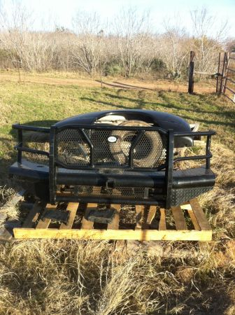 Front replacement bumper for sale - Ford Super Duty 08-10 - $525 (Poteet, TX)