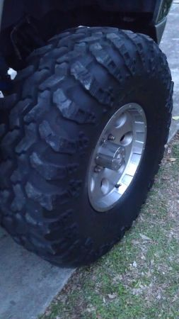 USED SUPER SWAMPER IROK 37 TIRES - $300 (N.E.)