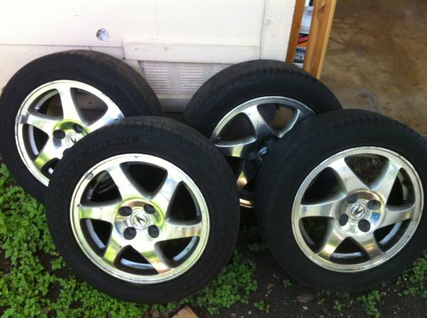 HondaAcura Gsr Blade Rims and Tires - $260 (nw san antonio)
