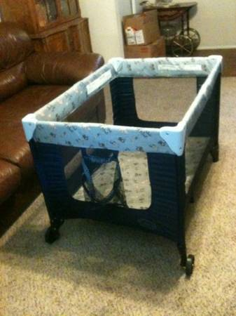 Cosco pack n play playpen - $40 (NE)