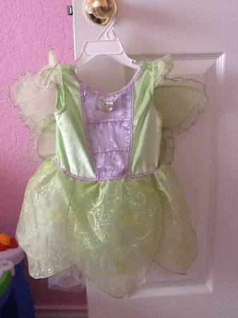 Tinkerbell costume 2-3T - $15 (Marbach410)