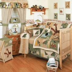 Crib bedding set with tons of extras Zanzibar (South)