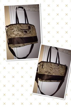 Authentic Coach Diaper Bag - $125 (1604Guilbeau)