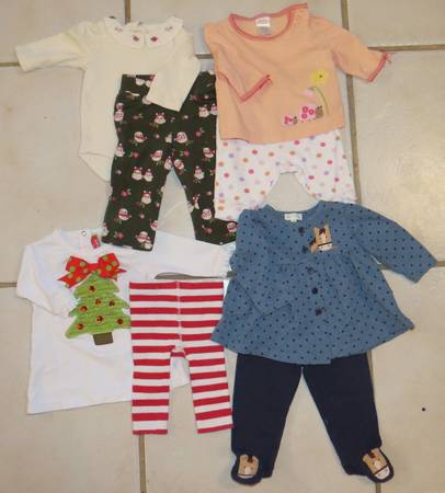 Infant Clothing Outfits 3-6 Months Brand Name - $3 (I-10 Vance Jackson)