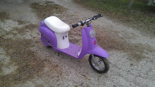 girls electric scooter - $50 (southeast sa)