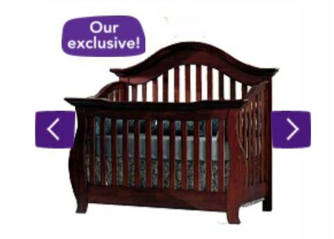 Baby Cache Oxford Lifetime Convertible Crib cherry - $300 (San Antonio)