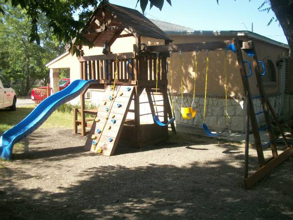 Rainbow  Sunray Playscape Playground Swingset for sale - $1200 (Downtown)