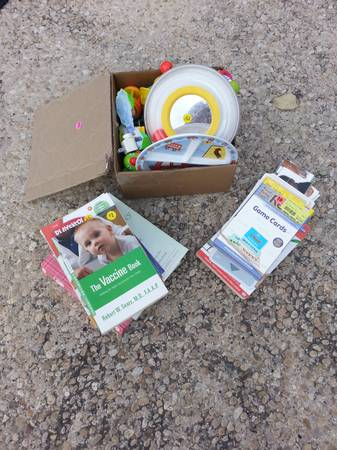 Baby Light-up, standing toy  lot of other items - $15 (Kyle Seale  1604)