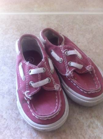 Red Toddler Boat Shoes - Size 5 - $10 (NW)