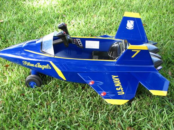Ride On Blue Angels Plane - $140 (NESA)