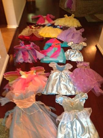 Tons of Princess and Fairy Costumes. Perfect for Halloween 10each - $10 (Helotes)