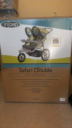 In Step Safari Double Jogging Stroller - $140 (Canyon Lake - FM306281)