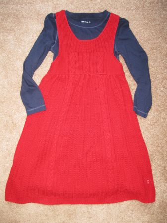Girls Gap Christmas Dresses - Like New Size 5 6 - $10 (Schertz)