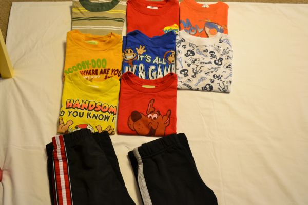 Little Boys clothes - size 2T - 10 pieces - $8 (NW San Antonio Sea World area)