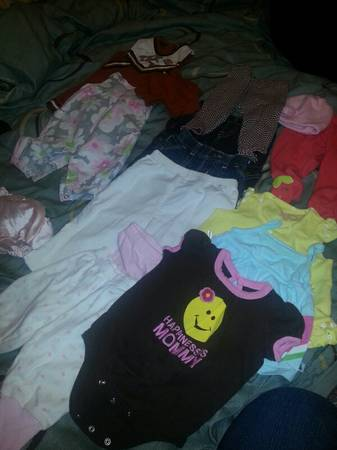 Lots Of Cute Baby Girl Clothes For Sale ) - $1 (Alamo Heights)
