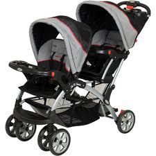 BABY TREND Sit N Stand Double Stroller - $145 (NW San Antonio)