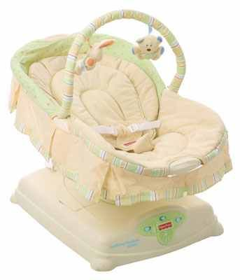 Fisher-Price Soothing Motions Glider - $40 (west ave blanco)