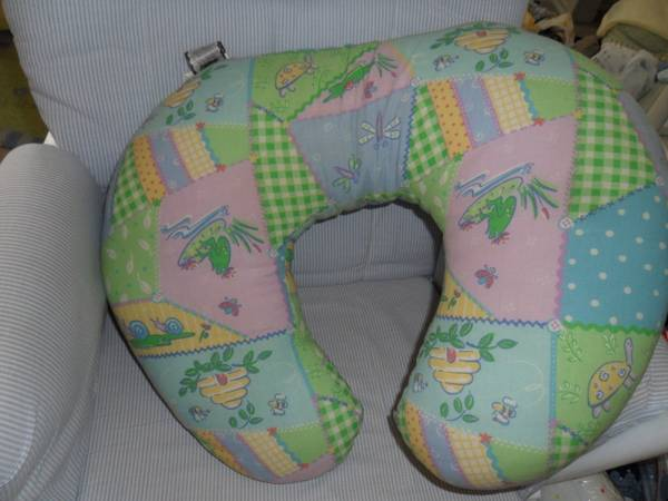 Great Baby Stuff Boppy Pillow Diaper Bag Positioner Lot (Seaworld)