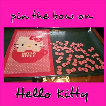Baby shower party decorations Hello Kitty - $150 (Von Ormy)