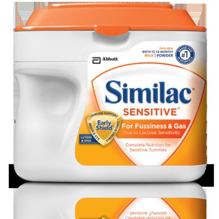 SIMILAC Sensitive (Orange) Canisters- Four Brand New Canisters - $70 (BittersBlanco)