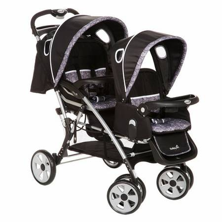 Safety first double stroller - $100 (West)