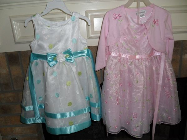 Pretty Girls Easter Dresses sz 4 - $12 (Seaworld)