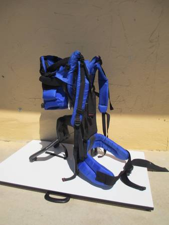 EVENFLO GERRY TRAILTECH BABY BACKPACK CHILD CARRIER - $45 (Central San antonio)