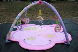Pink Exersaucer, Baby Bouncer, Activity Play Mat - Very Clean - $25 (San Antonio)