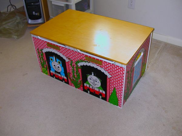 Thomas the Train Toy Box - $50 (North Side San Antonio)
