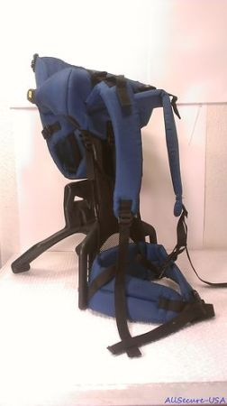 Evenflo TrailTech Baby Toddler Backpack Carrier Teal Blue Hiking w Ki - $25 (281 1604)