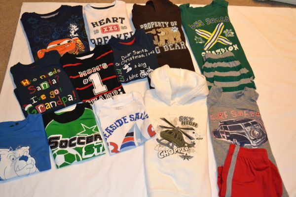 Little Boys clothes - size 3T - 16 pieces - $15 (NW San Antonio Sea World area)