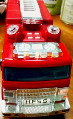 Hess Fire Truck Great xmas gift - $15 (6565 Babcock Rd. Ste 22 78249)