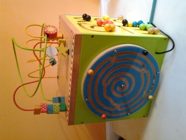 Parents by Battat Wooden Activity Cube - $25 (cent. SA)