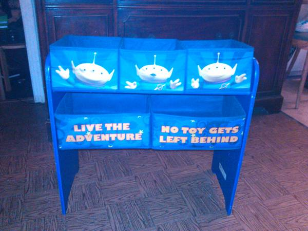 Toy Story Toy Organizer - $15 (North Central)