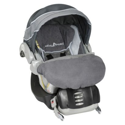 Baby Trend Flex-Loc 30 lb. Infant Car Seat- Grey Mist Baby Trend Flex- - $80 (IH10410)