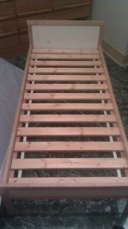 IKEA TODDLER BED- NEEDS TO GO ASAP - $30 (SE)