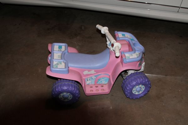 Barbie 4 Wheeler-Fisher Price Power Wheels - $50 (Boerne)