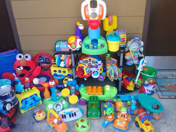 tons of great toys VTech Spiderman Batman and Elmo Much much more starting at fi - $5