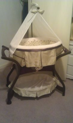Zen collection bassinet (Lackland)