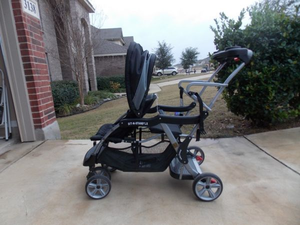 Baby Trend Sit N Stand LX Double Stroller - $50 (San Antonio - North Central)