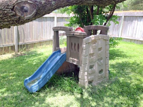 Step 2 Woodland Climber Slide Playscape - $65 (1604 and 281 North)