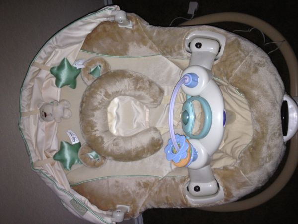 Baby items including swing bouncer - $15