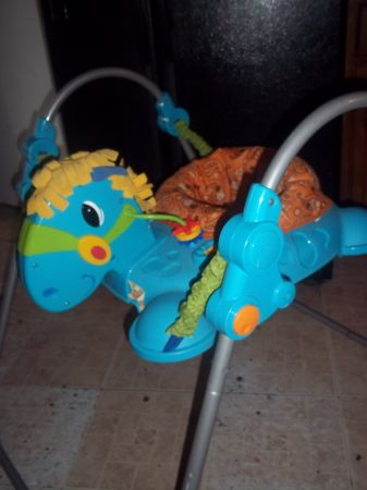__Fisher Price Horse Jumperoo - $35 ( south)