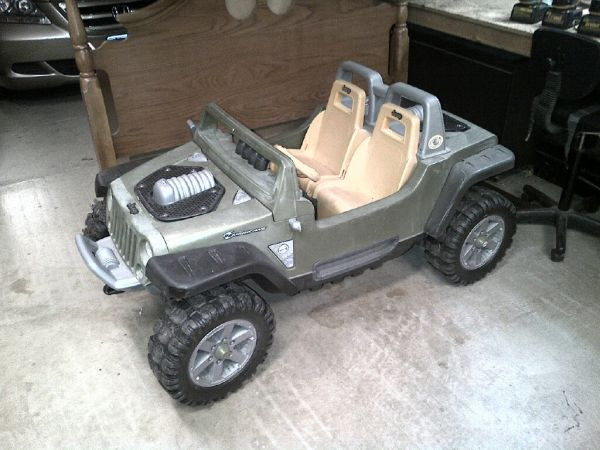 Power Wheels Jeep Huricane - $150 (Schertz)