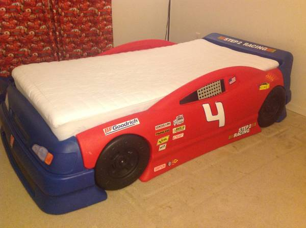 Step2 Stock Car Convertible bed - $220 (Medical center )