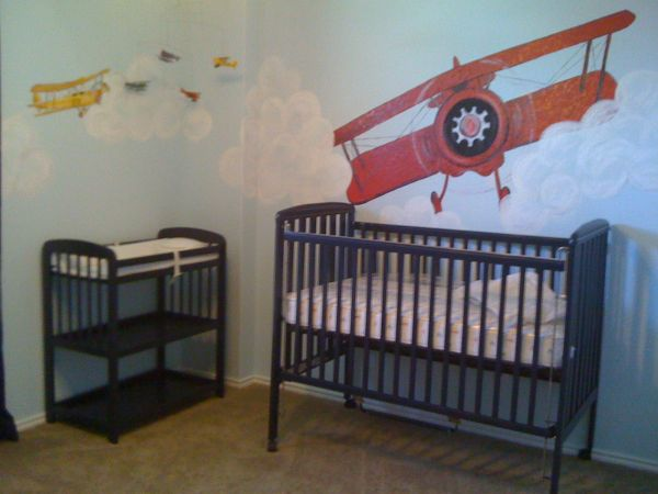 Baby CribChanging Table - $150 (1604Potranco)