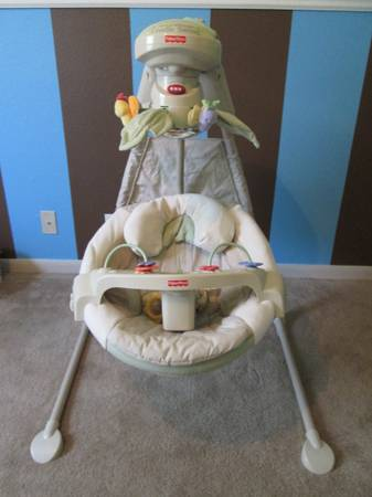 Baby Swing - $65 (Lackland)